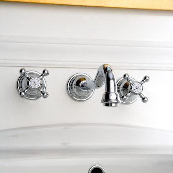 Baterie lavoar robinet 19cm montaj perete parti expuse Graff Canterbury 2366400