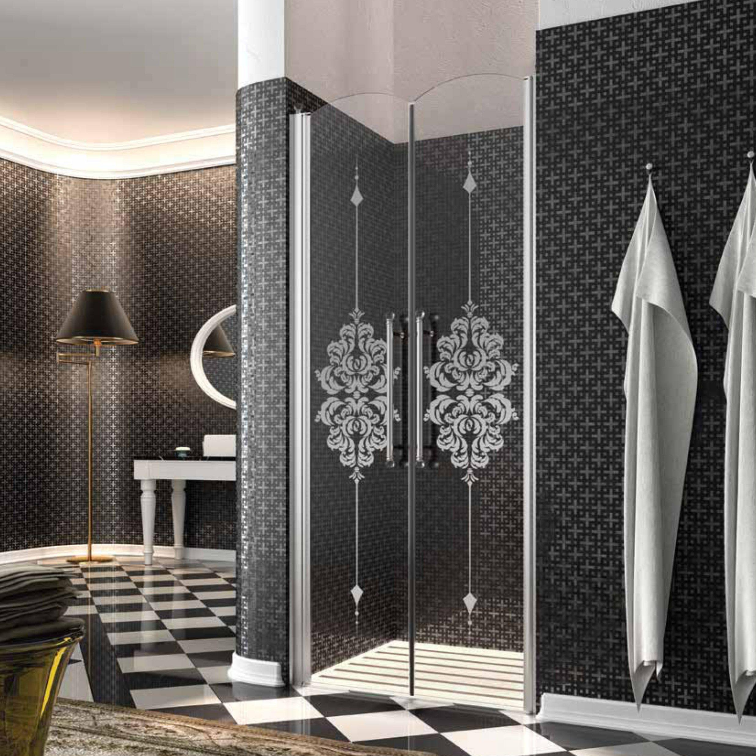 Ușă dubla pentru duș batanta Heritage hg