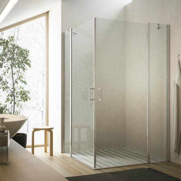 cabina de duș cu doua usi soho md glass