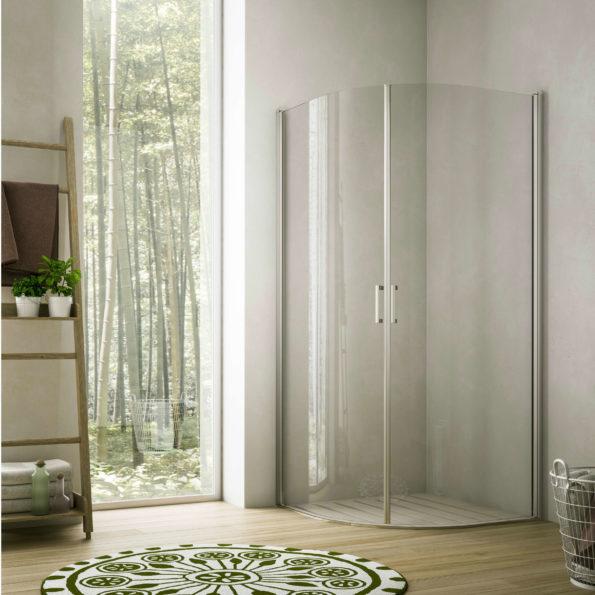 Cabină de duș rotundă Soho-MQ