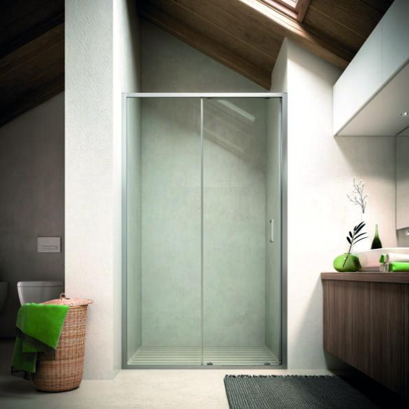 Ușă glisantă pentru duș Soho MO Glass