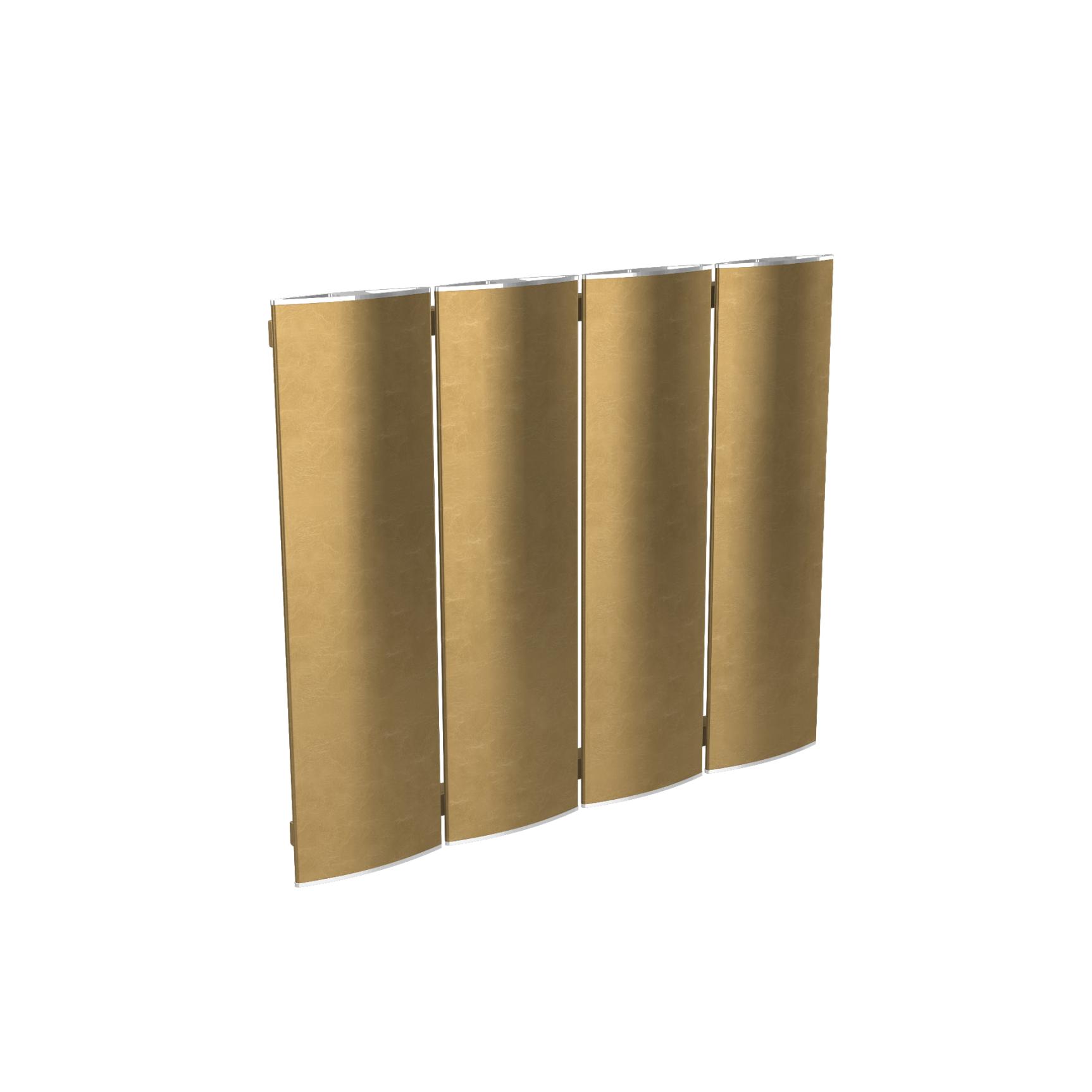 radiator modular Ridea Othello Plate Slim auriu