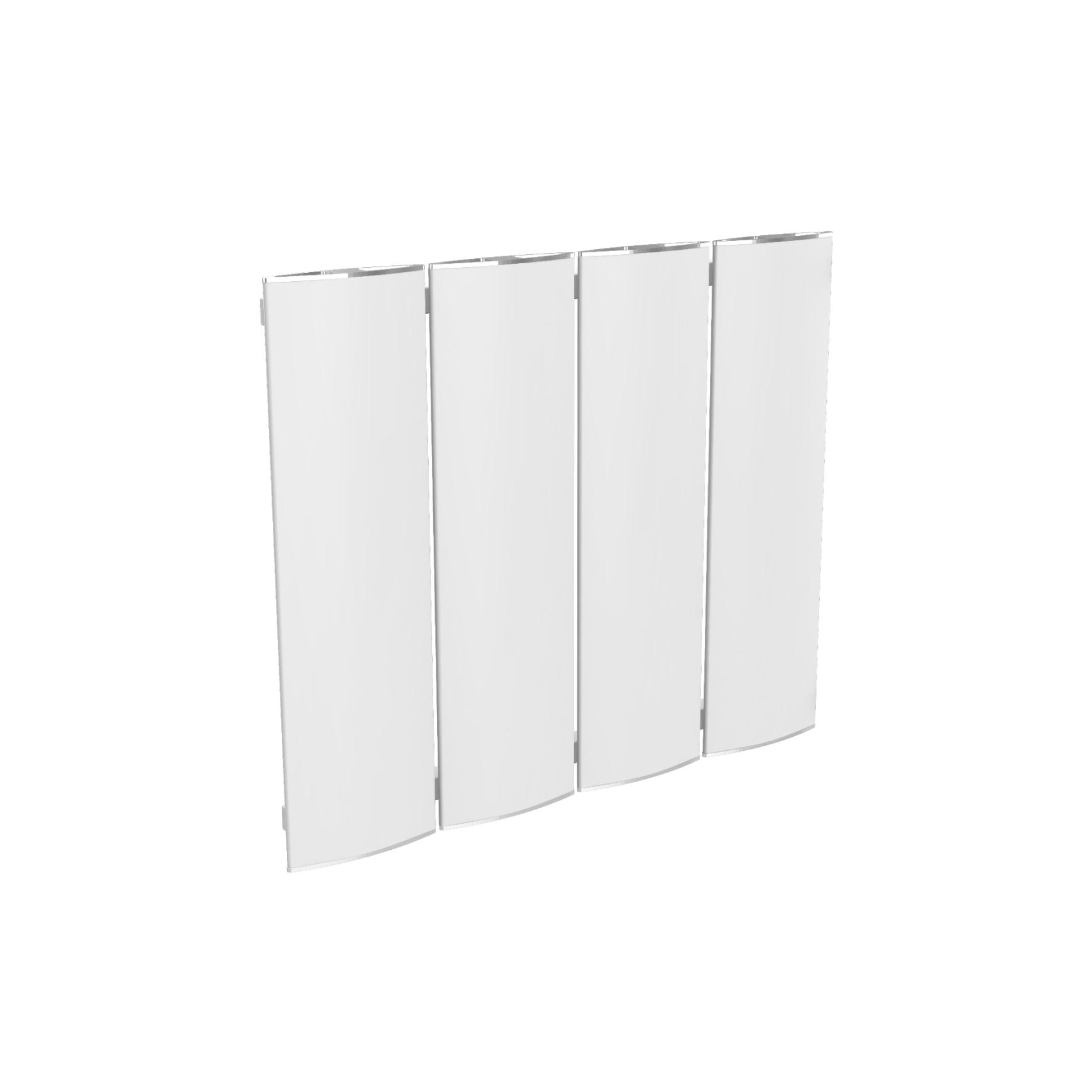 radiator modular Ridea Othello Plate Slim alb