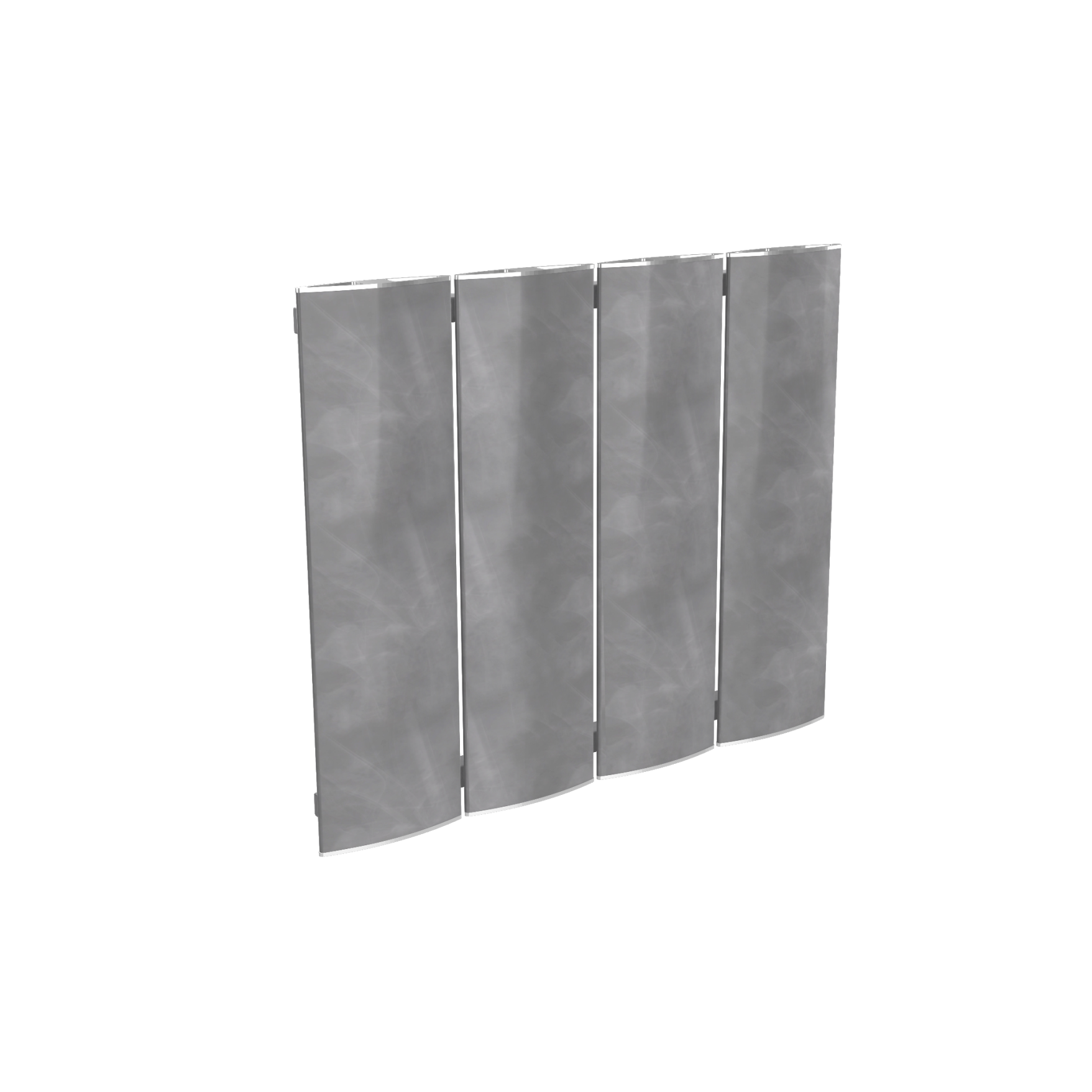 radiator modular Ridea Othello Plate Slim gri