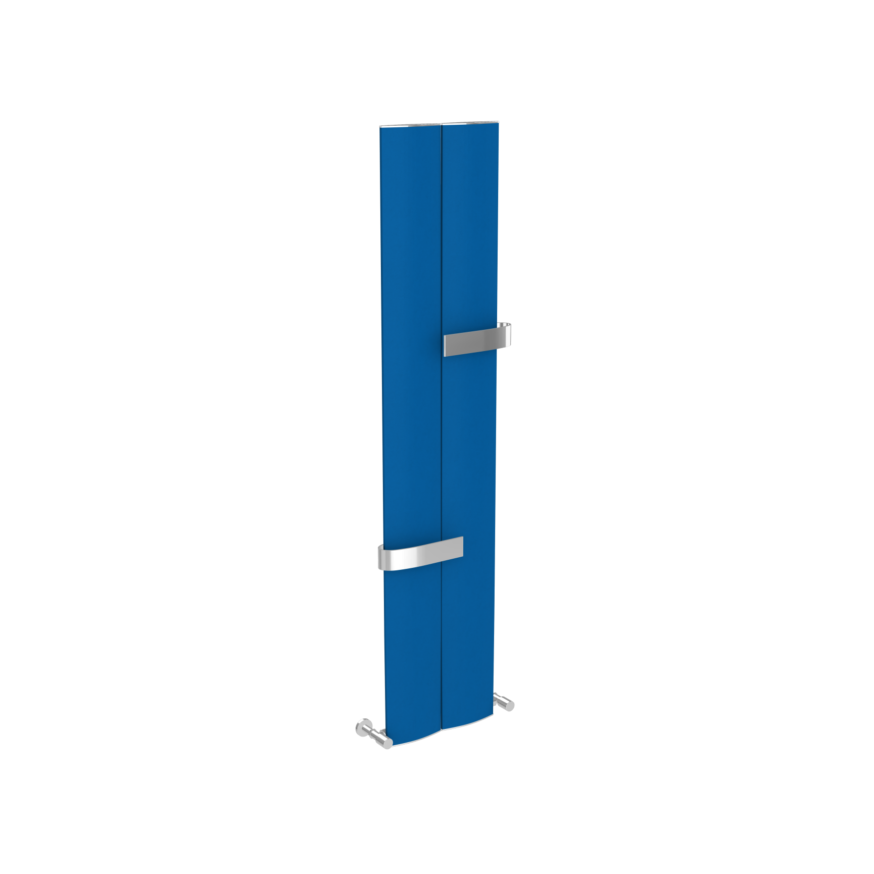 radiator elegant Ridea Othello twin slim albastru