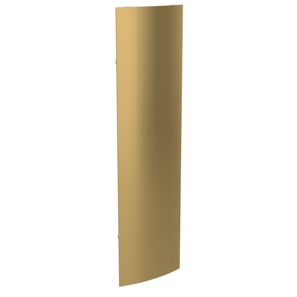 radiator modernist Ridea Extro S fix auriu