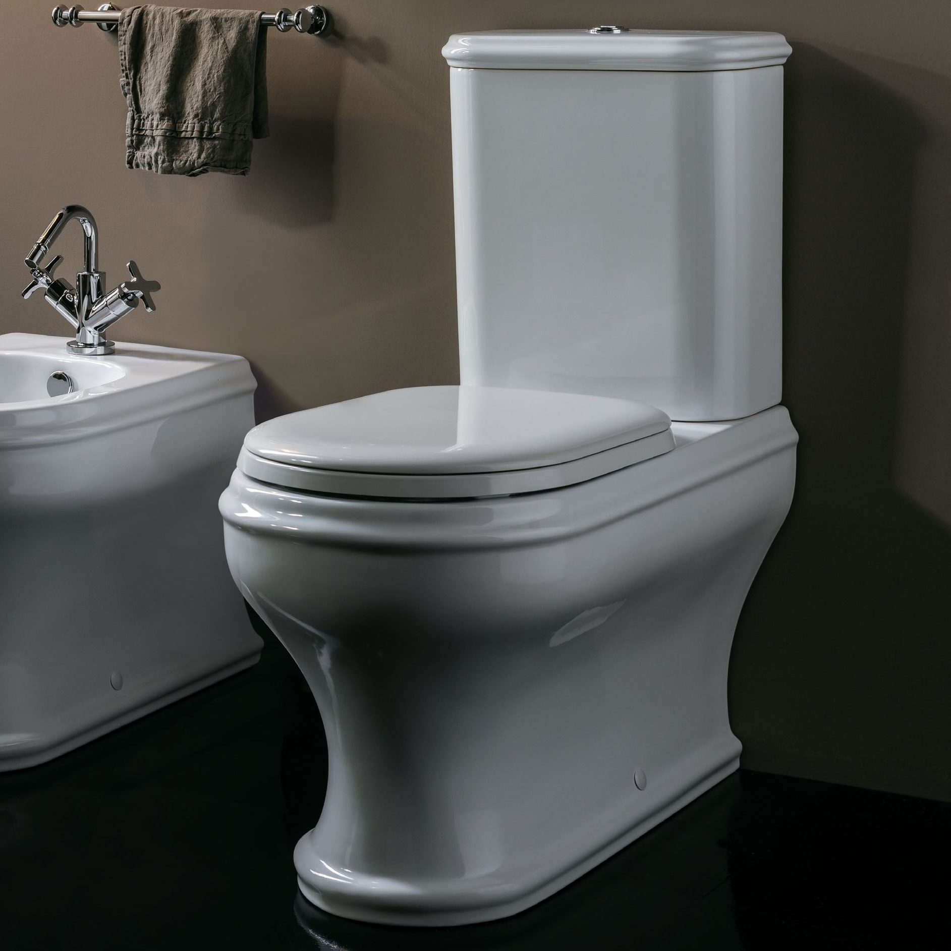 Vas WC monobloc modern Azzurra Charme