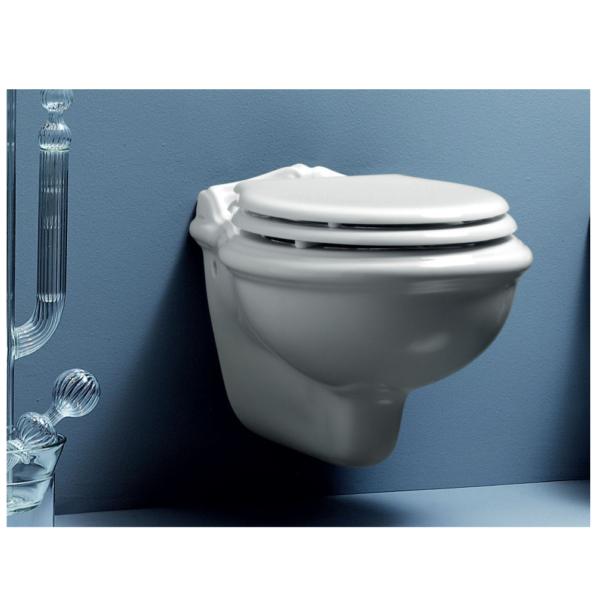 vas WC suspendat clasic victorian style azzurra